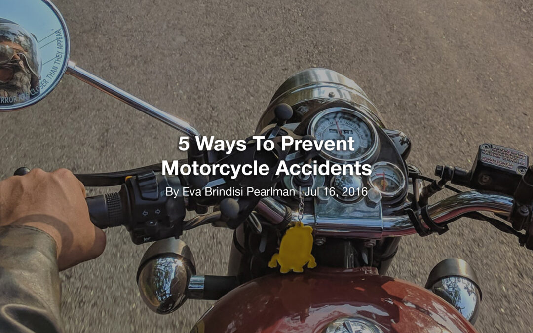 5 Ways To Prevent Motorcycle Accidents
