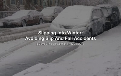 Slipping Into Winter: Avoiding Slip And Fall Accidents
