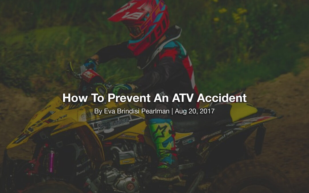 How To Prevent An ATV Accident