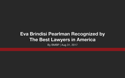 Eva Brindisi Pearlman Recognized by The Best Lawyers in America