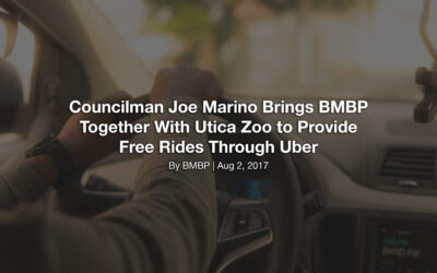 Councilman Joe Marino Brings BMBP Together With Utica Zoo to Provide Free Rides Through Uber