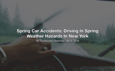 Spring Car Accidents: Driving In Spring Weather Hazards In New York