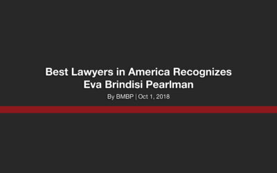 Best Lawyers in America Recognizes Eva Brindisi Pearlman